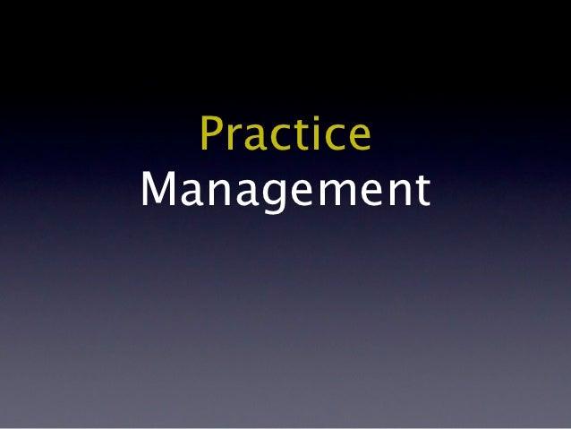 PracticeManagement