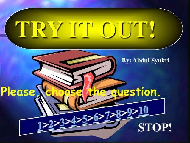 Latihan Soal Try Out Bahasa Inggris Sma Kelas Xii