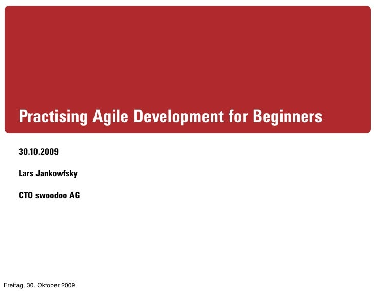 Agile Development with PHP in Practice