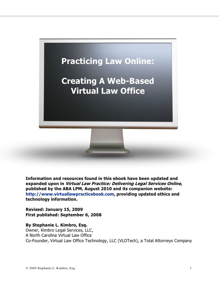 Practicing law online ebook 5.17