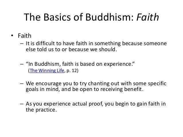Practice buddhism basics