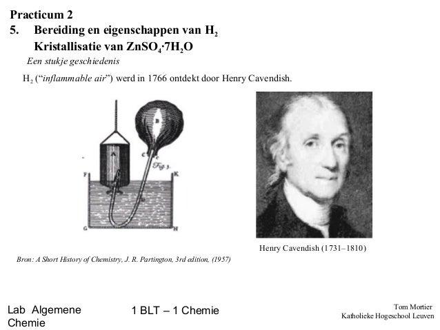 Labovoorbereiding - Bereiding van waterstofgas