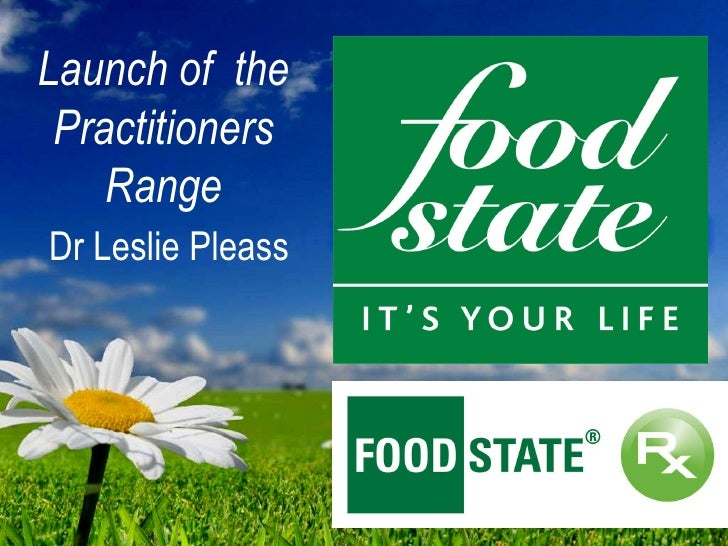 Launch of  the Practitioners Range   Dr Leslie Pleass