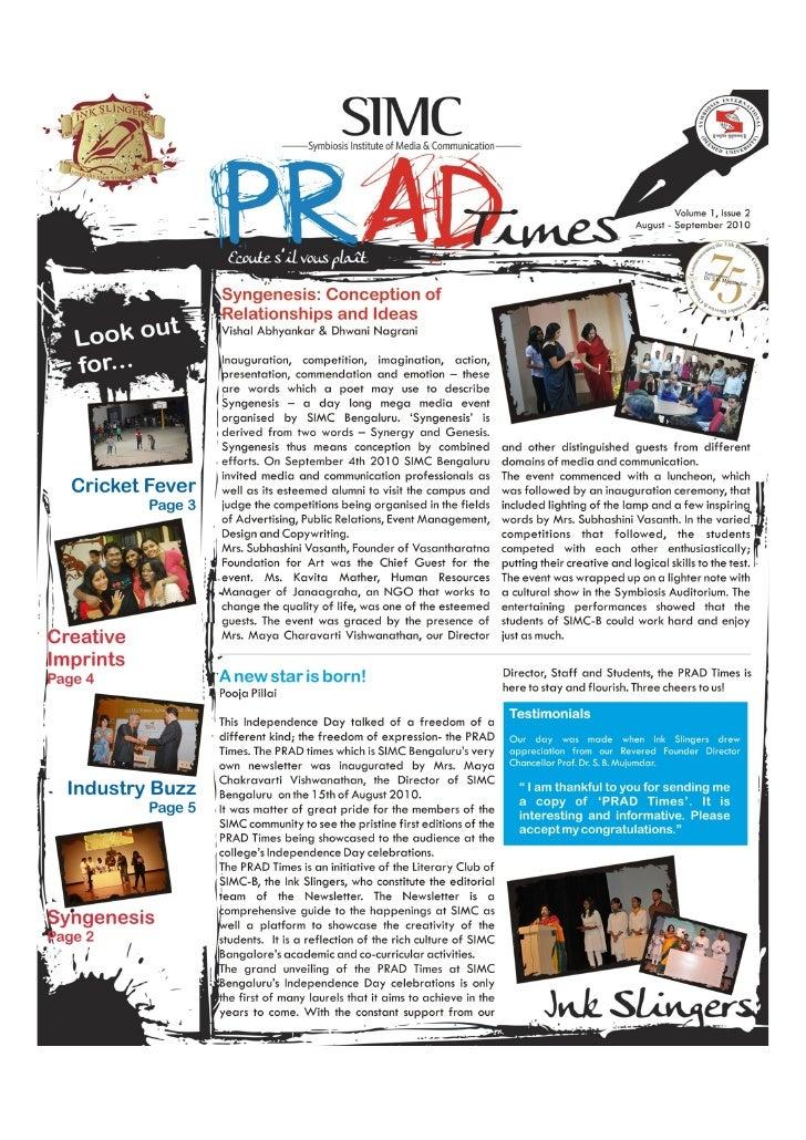 Prad times 2010 september