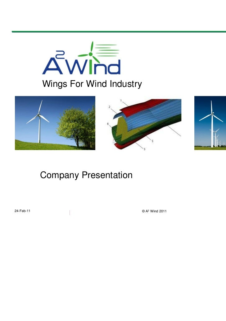 Wings For Wind Industry                                   A 2 Wind                6,86 €            Company Presentation24...
