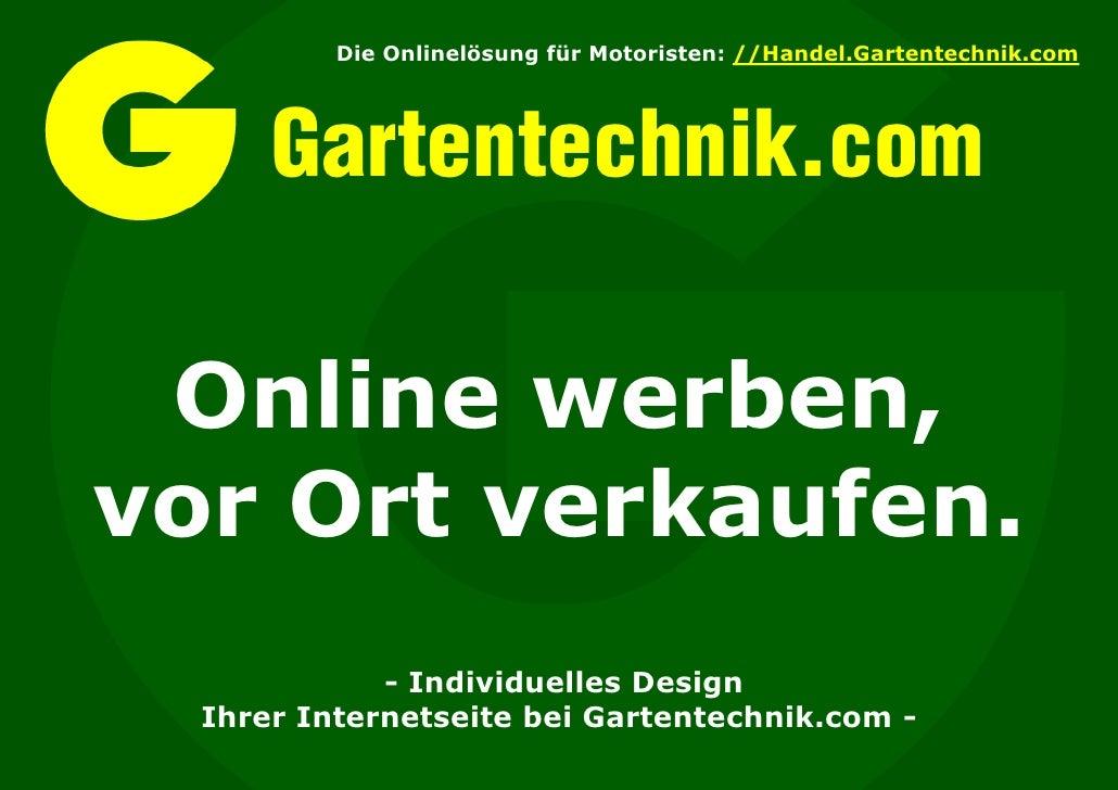 Individuelles Design mit Gartentechnik.com