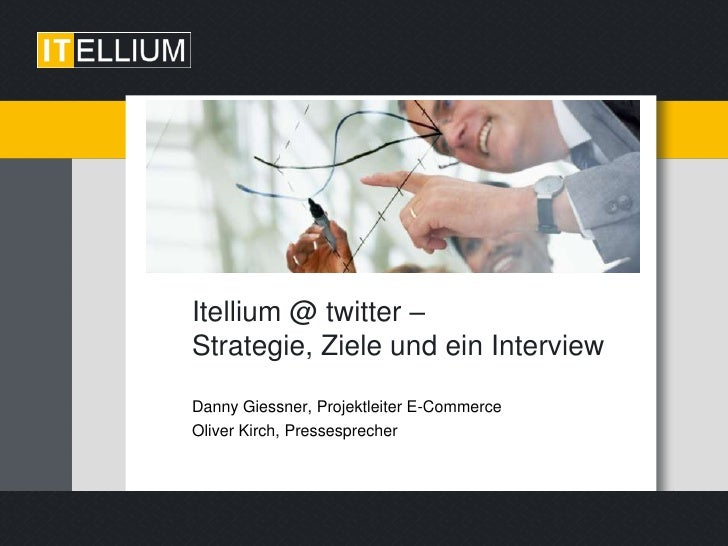 Interview mit Twitter (@twitellium beim Twittwoch Ruhr 25.08.2010)