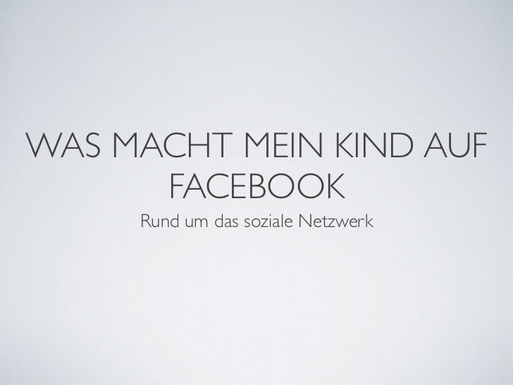 Facebook für Eltern