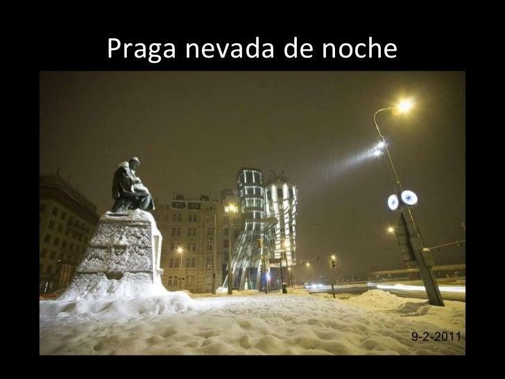 Pra g a  nevada de  noc he 9-2-2011