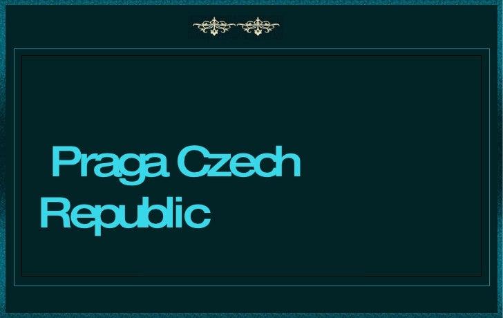 Praga república checa