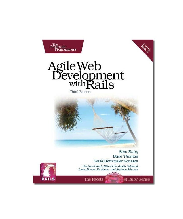 Pragmatic   Agile Web Development With Rails.3rd Edition.2009