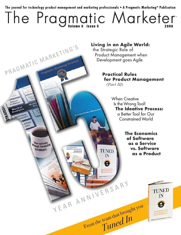 The Pragmatic Marketer Magazine: Volume 6, Issue 5
