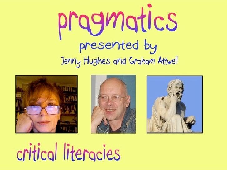 Pragmatics in Education