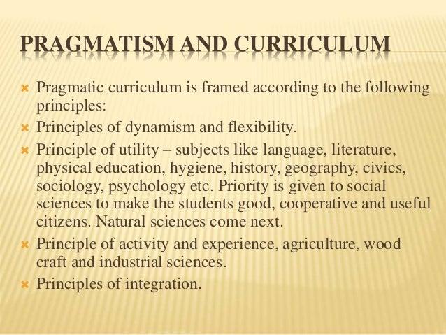 A Natural History Of Pragmatism