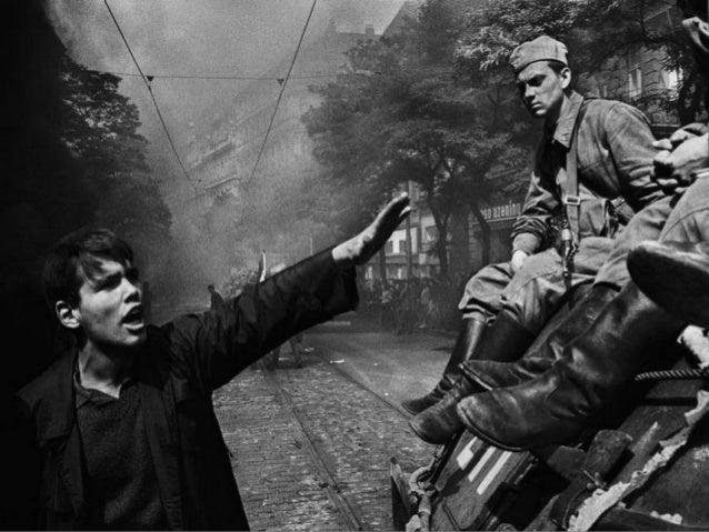 Prague August 21, 1968 Warsaw Pact tanks invade Prague Josef Koudelka Magnum Photos
