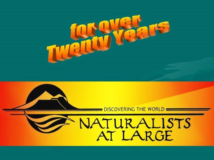 Prairie Creek S.P.: Naturalists at Large