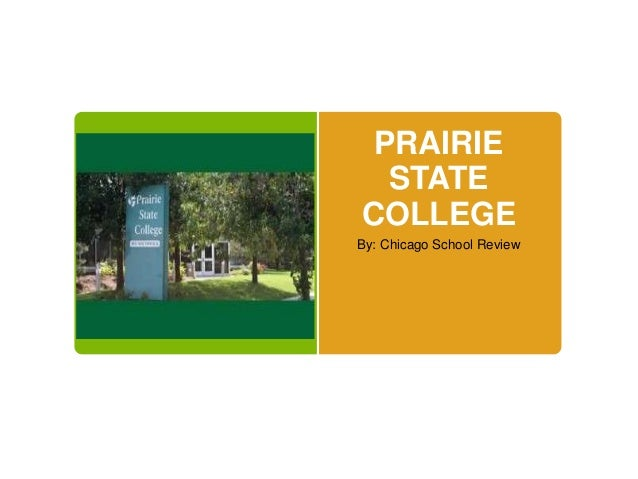 Online Courses from Prairie State College - ed2go.com