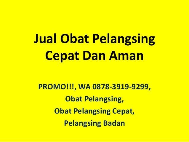 PROMO!!!, WA 0878-3919-9299, Obat Pelangsing, Obat ...
