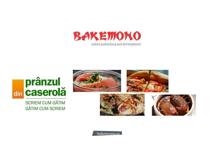 PranzulDinCaserola.ro Sales Presentation