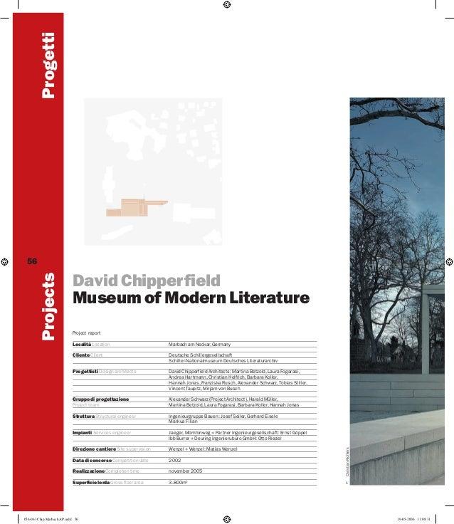 Museum of Modern Literature, Marbach am Neckar, Germany.