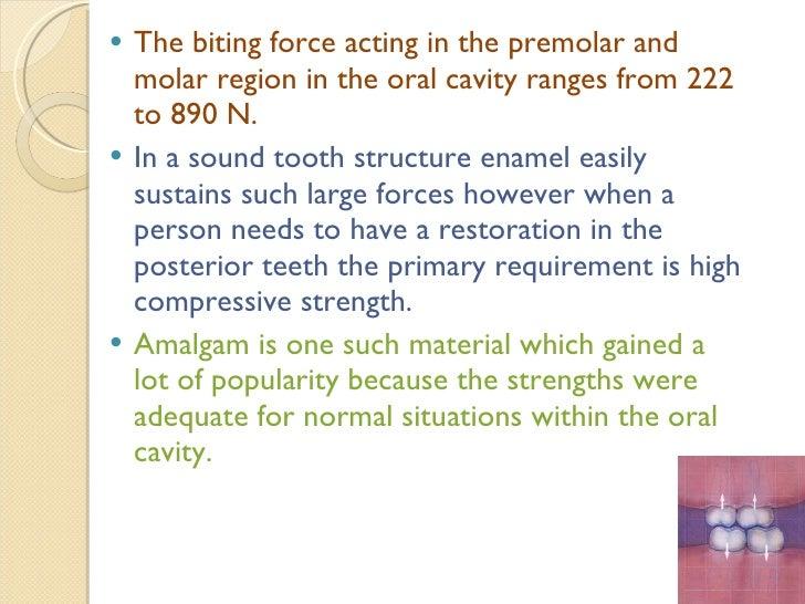 Strength and Creep of dental amalgam