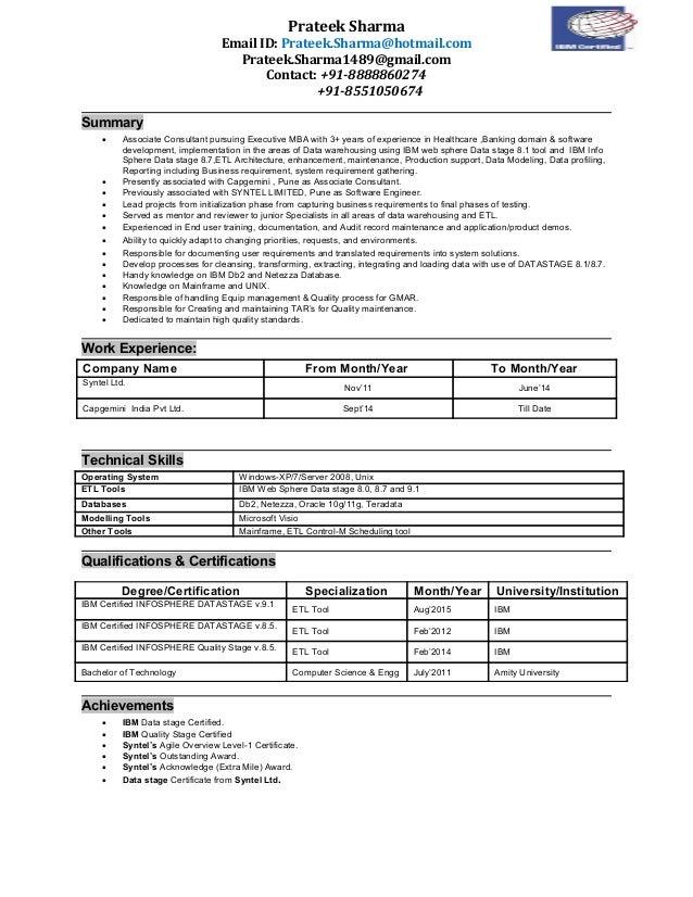 prateek sharma etl datastage exp3 9yrs resume
