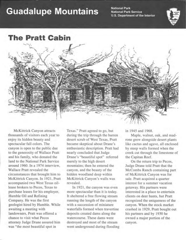 NostalgicOutdoors™- Guadalupe Mountains National Park- Pratt Cabin