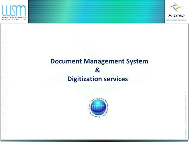 Praxeva dms & digitization v2 0