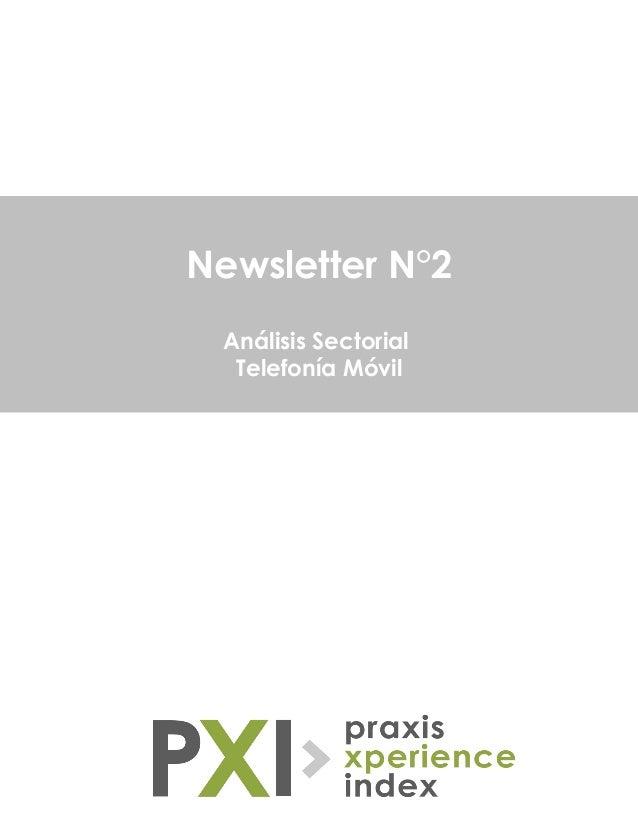 Newsletter N°2 Análisis Sectorial Telefonía Móvil