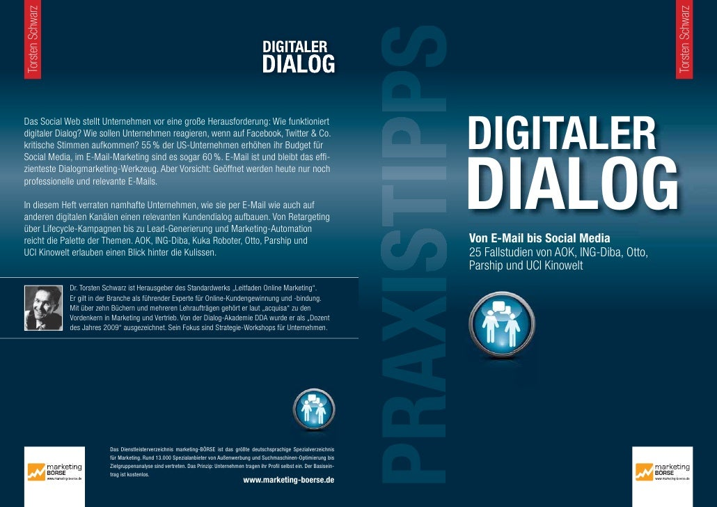 "Praxistipps Digitaler Dialog - Kapitel ""Das Contact Center eines Konzerns im Social Web"", Bonelli"