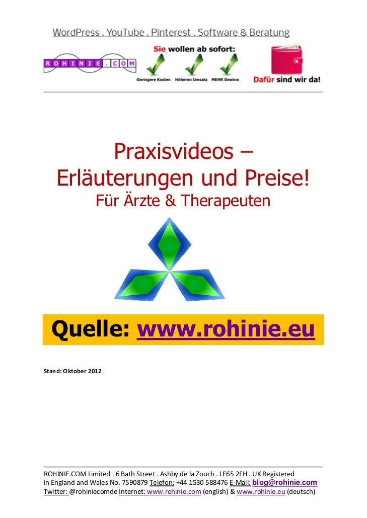 Praxisvideos –    E...
