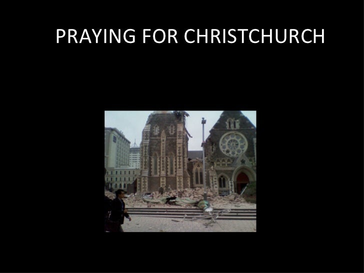 PRAYING FOR CHRISTCHURCH