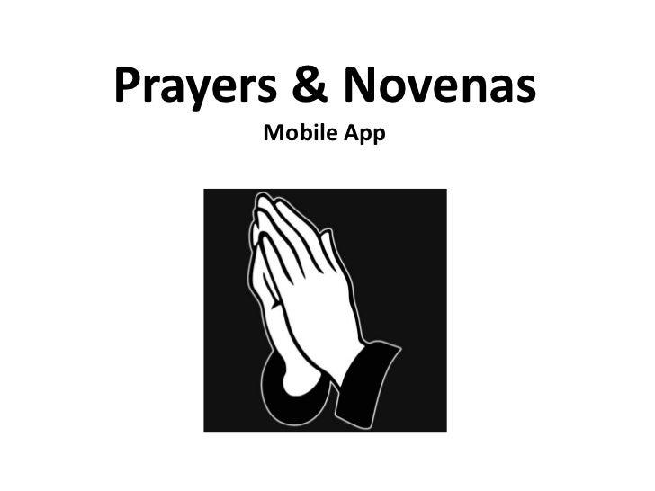 Prayers and Novenas Mobile App