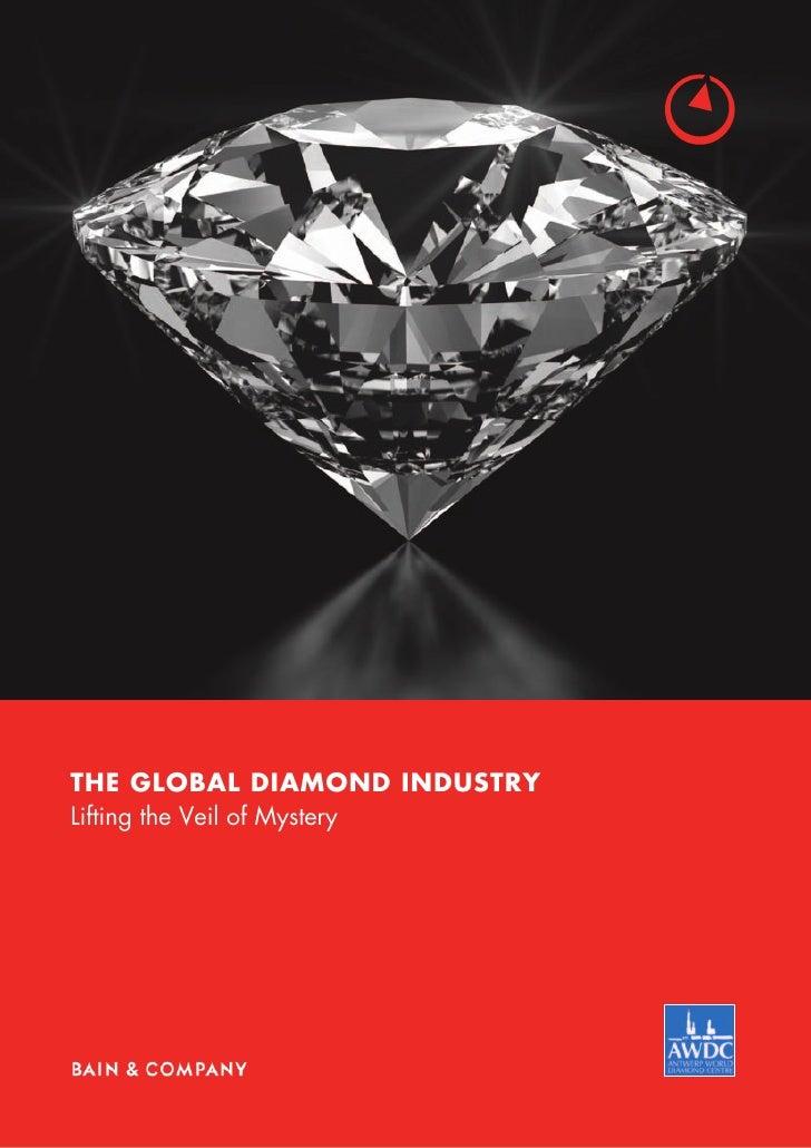 PR BAIN Report the global diamond industry