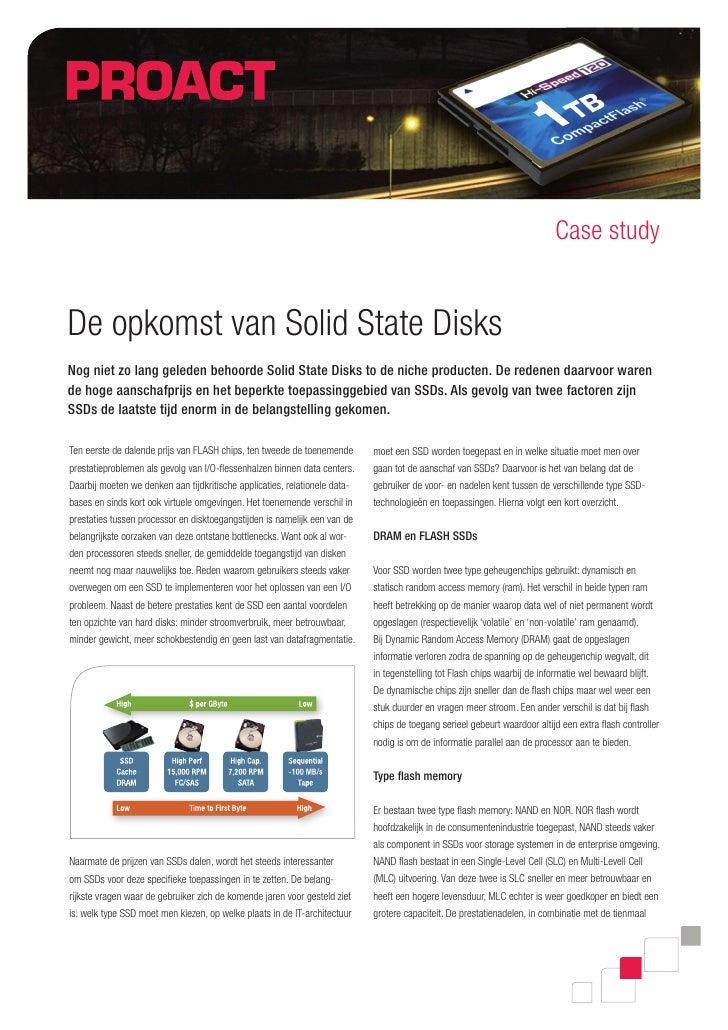 De opkomst van Solid State Disks