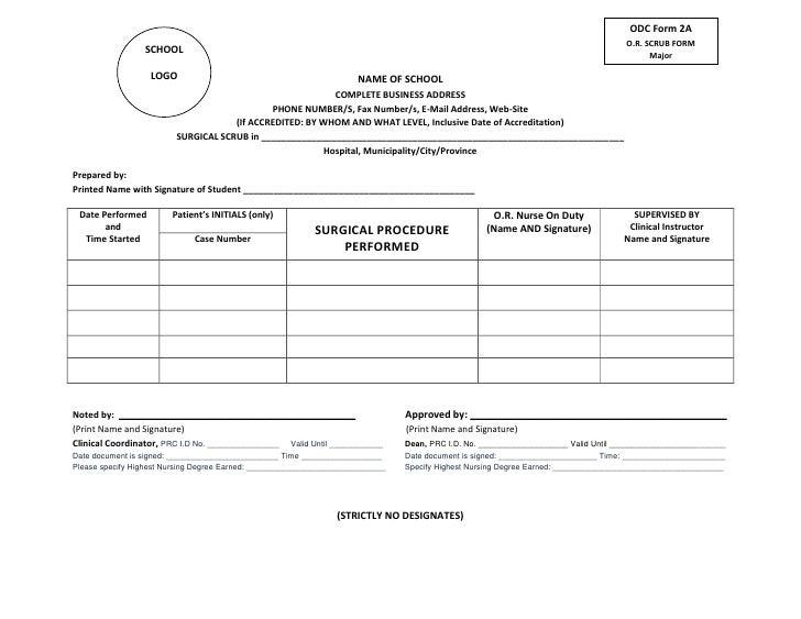 ODC Form 2A                                                                                                               ...