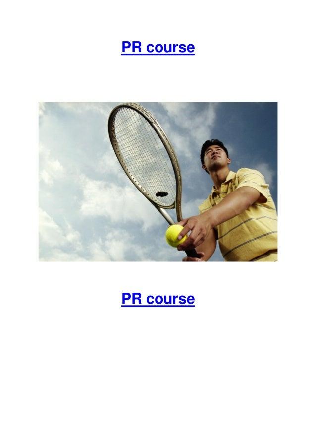 PR course  PR course