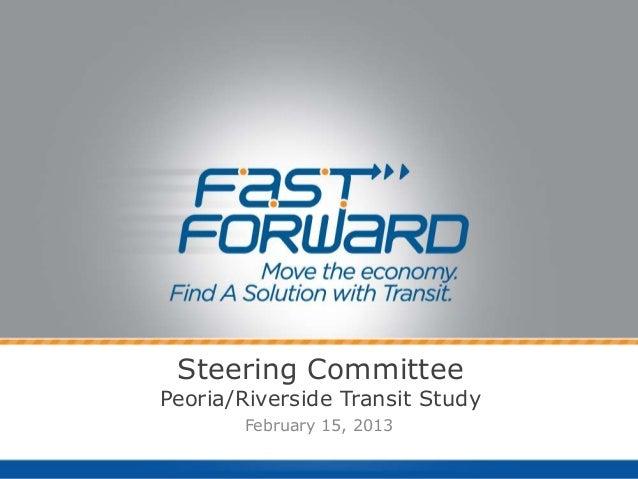 Steering Committee 2-15-2013