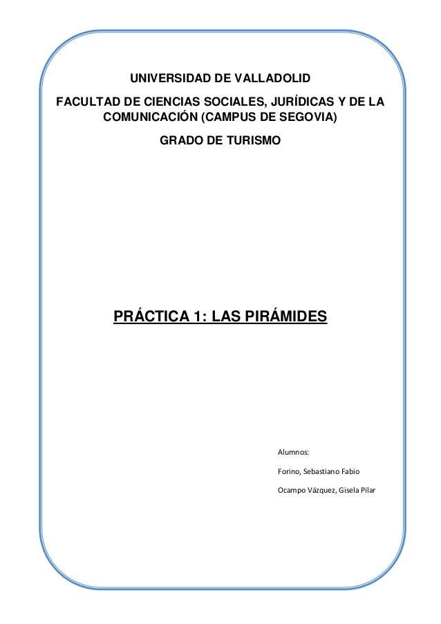UNIVERSIDAD DE VALLADOLIDFACULTAD DE CIENCIAS SOCIALES, JURÍDICAS Y DE LA      COMUNICACIÓN (CAMPUS DE SEGOVIA)           ...