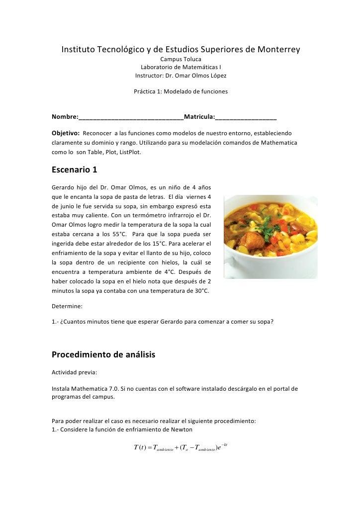 Práctica 1 modelado de funciones verano 2010