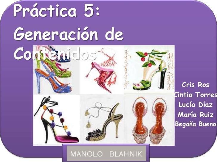 Práctica 5  generación de contenidos (i)