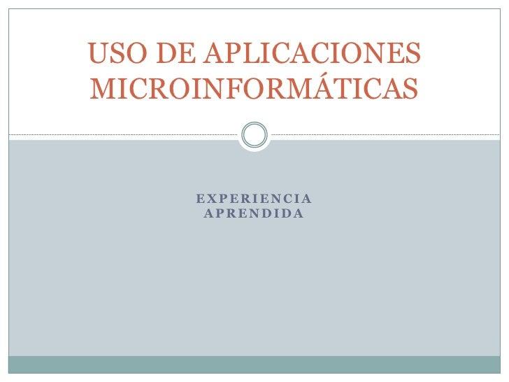 practica 7 (Power Point) uso de aplicaciones microinformaticas