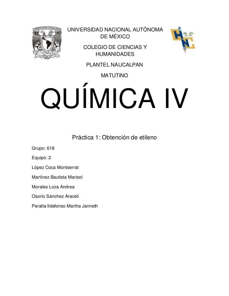 UNIVERSIDAD NACIONAL AUTÓNOMA                           DE MÉXICO                            COLEGIO DE CIENCIAS Y        ...