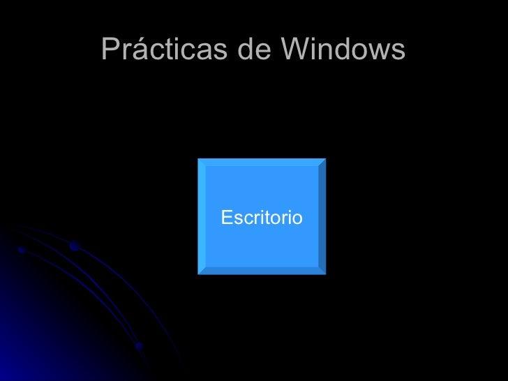 PráCticas De Windows