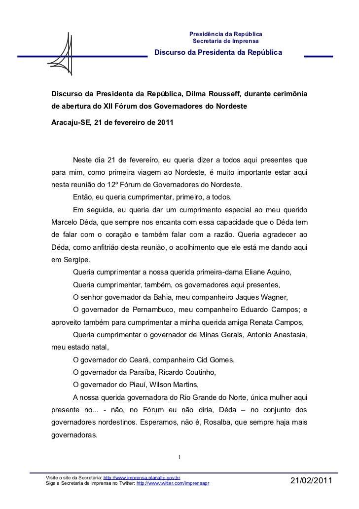 Dilma em Aracaju