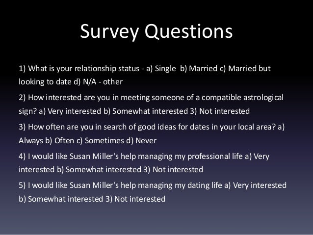 Best online dating questions to ask