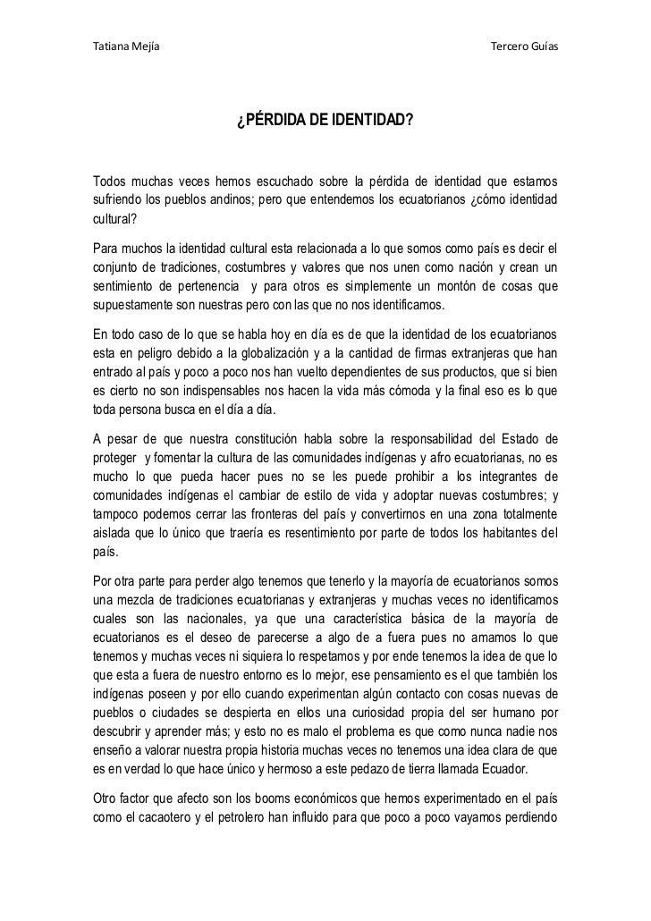 Tatiana Mejía                                                             Tercero Guías                                ¿PÉ...