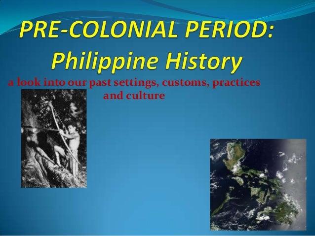 Pre colonial-period