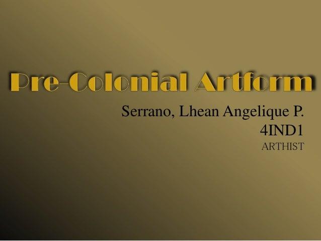 Pre colonial artform - Philippine Tattoo