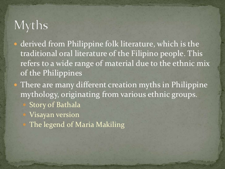 stage of philippine literature During the so-called 'formative stage' although the output of philippine literature in spanish has diminished in later years.
